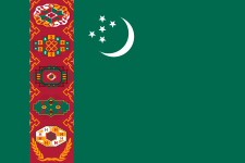 International Dialing Code Turkmenistan